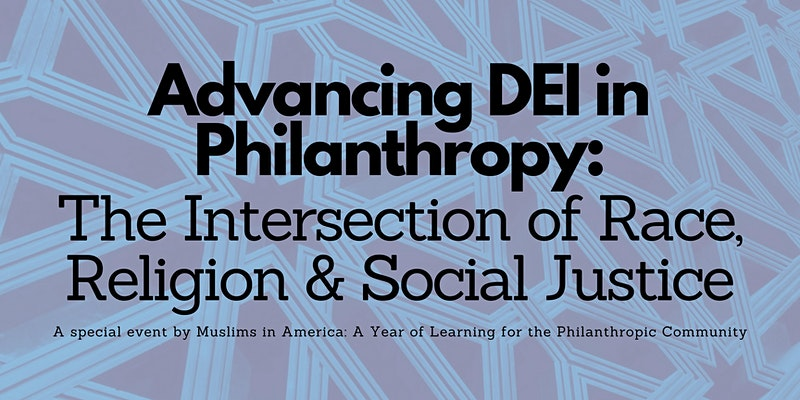 Advancing DEI in Philanthropy